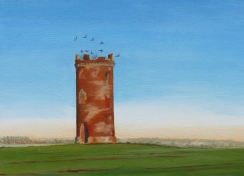 Dovecote with crows (2021)-K.Webb