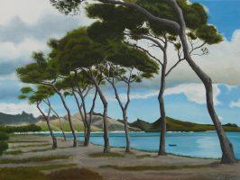 Pine trees, Pollensa Bay (2021)