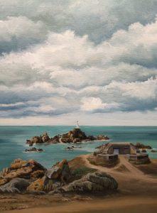 Sea defences, Jersey (2021)