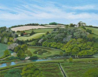 View from Mount Pleasant, North Devon (2021)